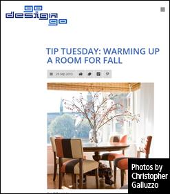 Go Design Go Tuesday Tips